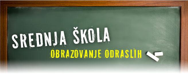 Srednja škola - obrazovanje odraslih