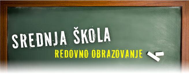 Srednja škola - programi obrazovanja